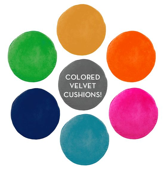 PENNY ROUND CUSHIONS