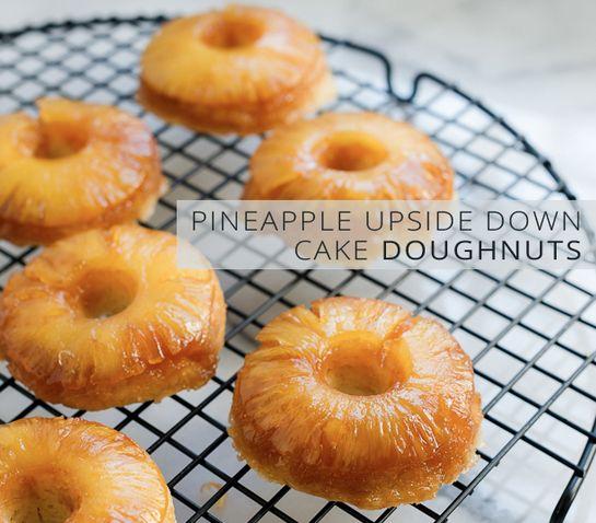Doughnut Upside-Down Cake Recipe — Dishmaps