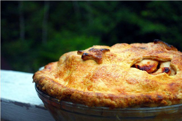 Mile High Apple Pie | guilty kitchen