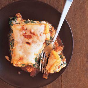 Polenta Lasagna with Butternut Squash and Spinach | Williams-Sonoma