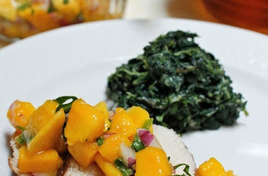 balsamic mango salad/salsa | GAPS: Meals, Snacks & Remedies | Pintere ...