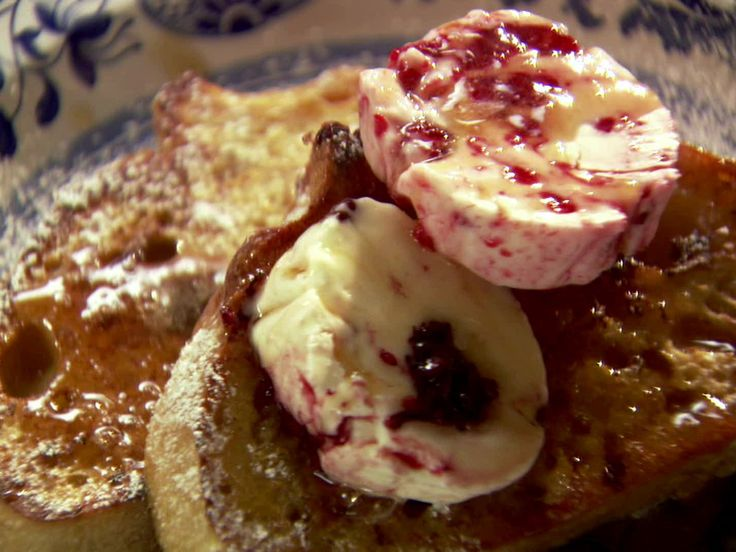 French Toast with Berry Butters from The Pioneer Woman