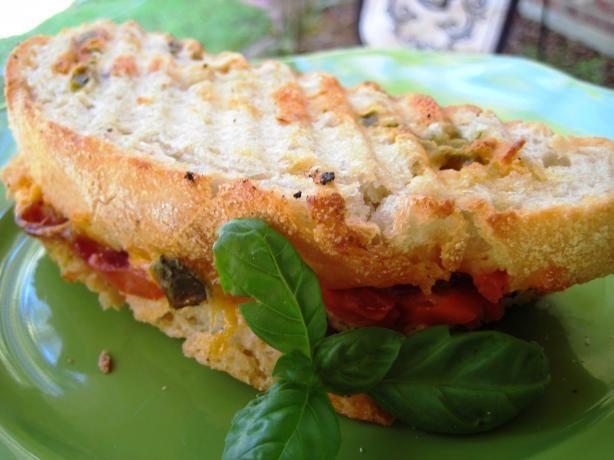 Bacon, Cheddar & Grilled Tomato Panini | Recipe