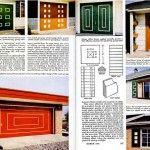 Garage and front doors