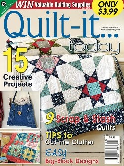 Quilt it magazine jan feb issue quilting and fabric for Magazine boards fabric