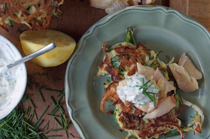 dill pancakes these taste great with a yoghurt cucumber and dill sauce ...