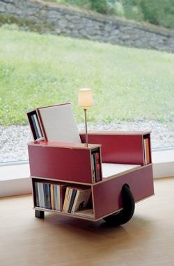 Mother Nature Network bookshelf chair