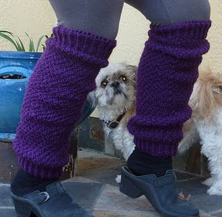 Graceful Legwarmers, pattern by Luciana Young