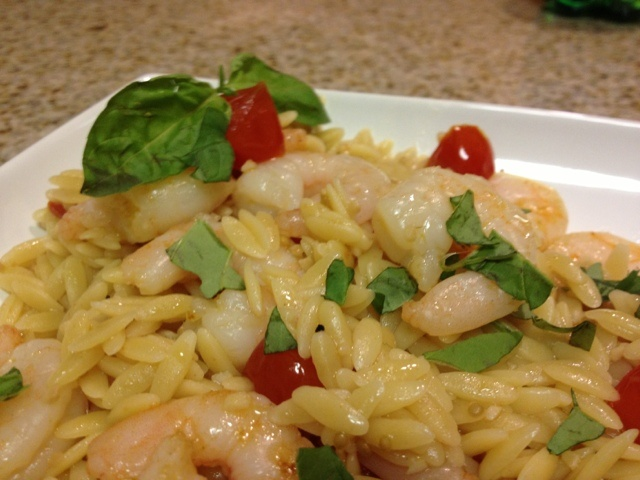 Sunday's Best Recipes: Skillet Shrimp and Orzo