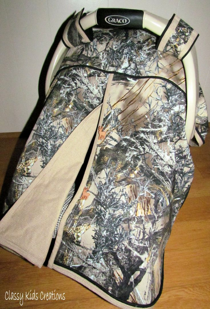 Camo Car Seat Canopy In True Timber S Mc2 Camouflage And