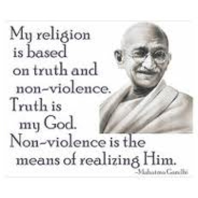 Mahatma Gandhi Quotes Nonviolence
