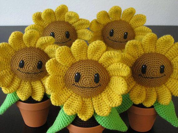 Happy Sunflower: PDF Amigurumi Crochet Pattern