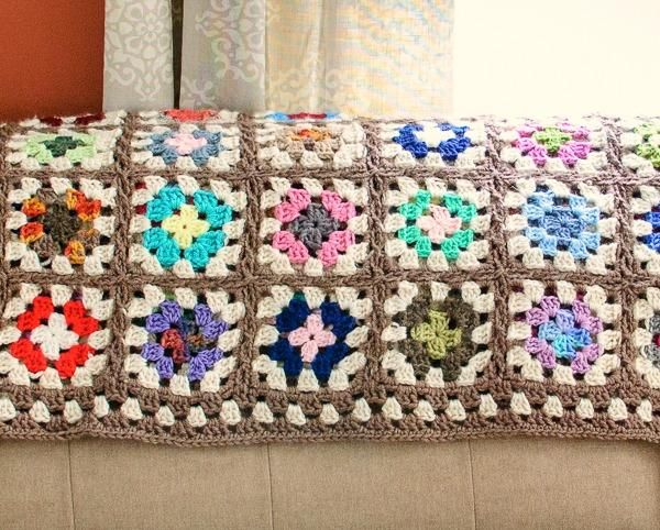 Free Crochet Patterns With Granny Squares : Free Crochet Granny Square Blanket Pattern
