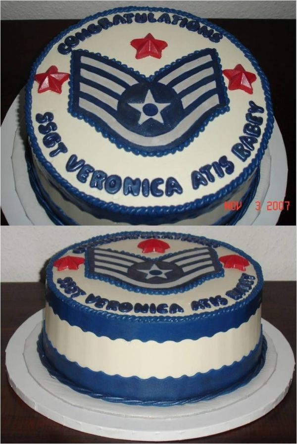 air force promotion cake cake designs pinterest