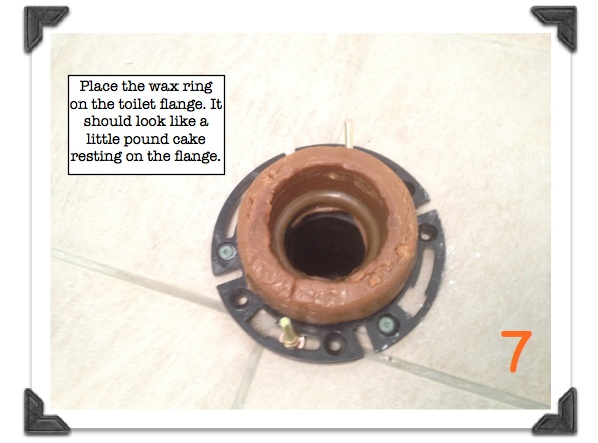 Toilet Flange Installation New Construction : Toilet installation diagram installing new