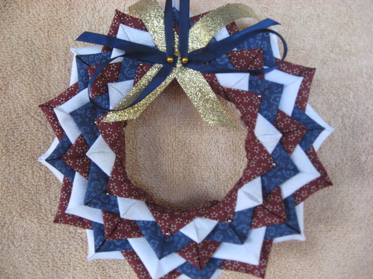 No sew patriotic wreath christmas ornaments these handmade holiday decorations will brighten - Great christmas ornaments that you need for your home ...