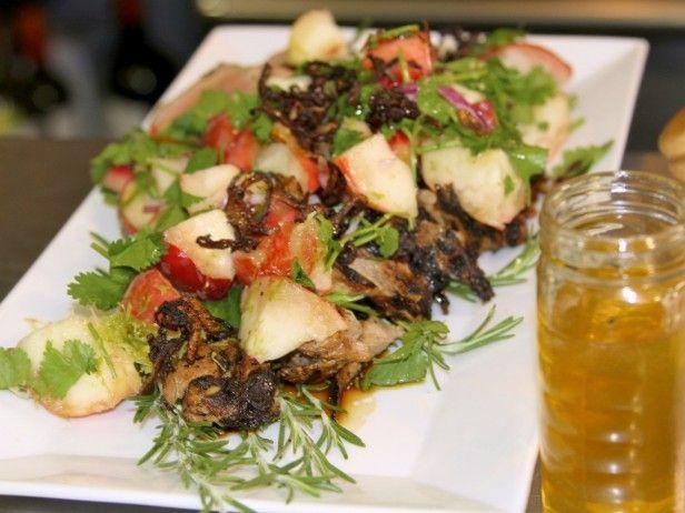 Honey Glazed Pork Tenderloin with Fresh Peach Salsa by Cooking Channel ...