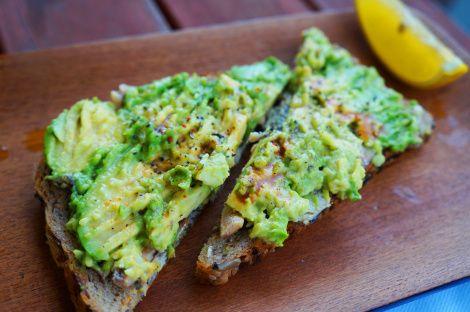 Sardine and Avocado Toast- okay so i cant have the bread. but still ...