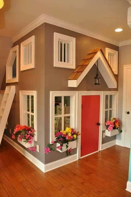 indoor clubhouse for kids or pets playrooms pinterest