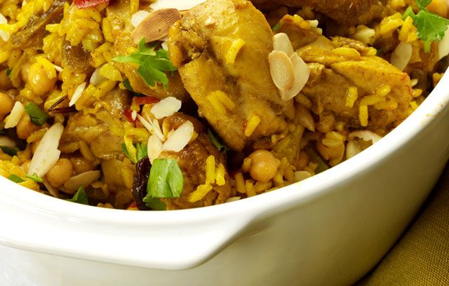 Chicken and Chickpea Pilaf | Recipes I want to try | Pinterest