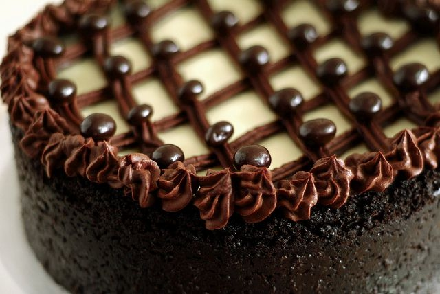 Cappuccino Fudge Cheesecake | Feeling Fudgy | Pinterest