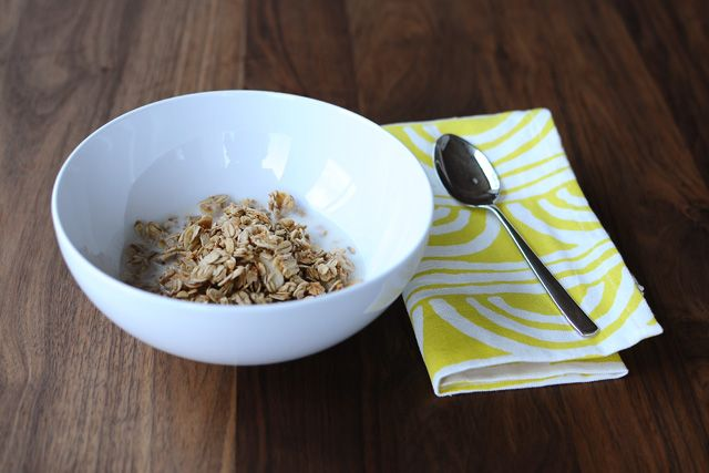 Almond Coconut Granola | Back to School | Pinterest