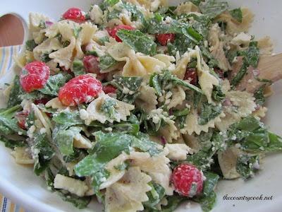 Creamy Mediterranean Pasta Salad   Side dishes   Pinterest