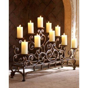 Fireplace Candelabra For The Home Pinterest