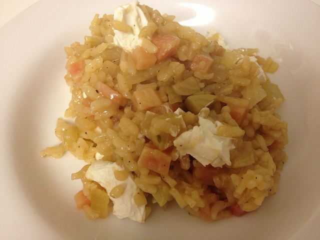 beet risotto with goat cheese | twothirtyate.com | Pinterest
