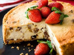 Rum Raisin Cheesecake!