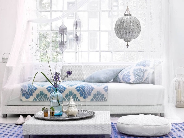 modern-moroccan-living-room  Homely - Moroccan  Pinterest