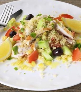 mint and cranberry quinoa salad | Two: EATS | Pinterest