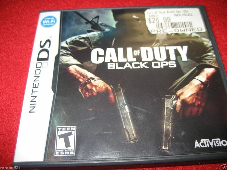 Call Of Duty 2 3ds : Call of duty black ops nintendo ds dsi nds