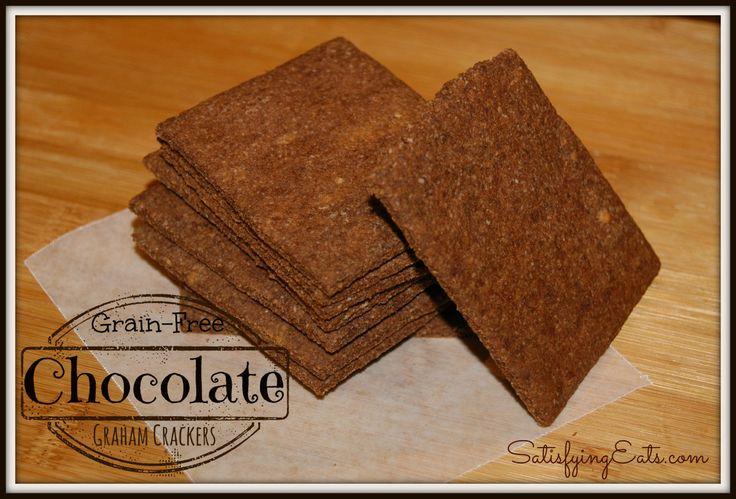 Chocolate Graham Cracker | Healthy sweet treats | Pinterest