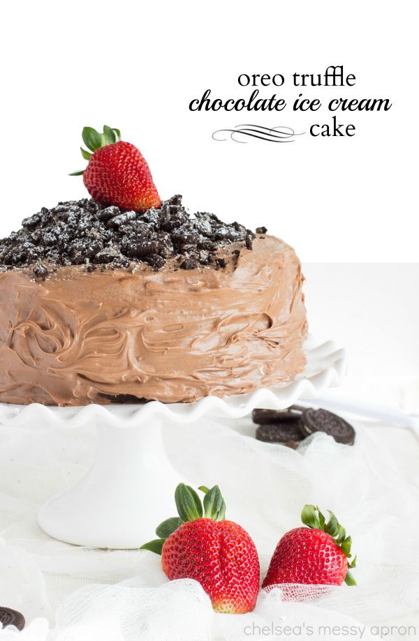 With ice cream with an inside oreo truffle layer this double layered