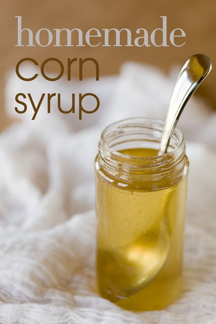 Homemade Corn Syrup (from Cupcake Project - cupcakeproject.com)