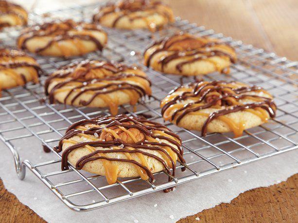 Caramel-Chocolate Pecan Cookies | Recipe