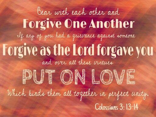 Colossians 3 13 14