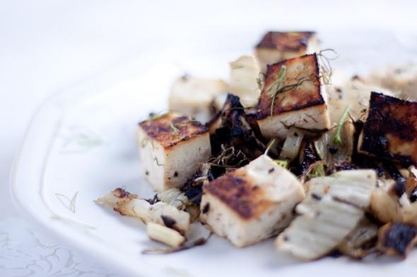 roasted lemon tofu with fennel :) | Recipes to Make | Pinterest