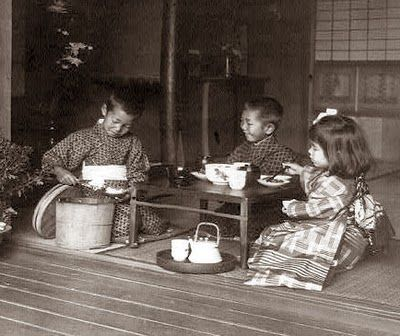 I just love this... early 1900s Japanese tea