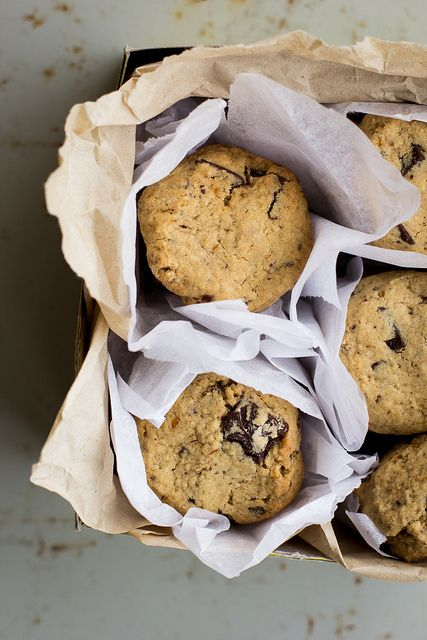 Gluten-free Spiced Orange Chocolate Chunk Cookies