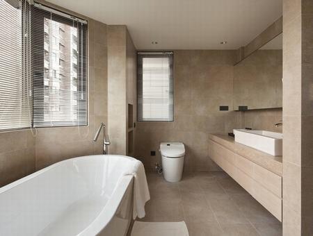 Bathroom in earth tone dream bathrooms pinterest for Bathroom ideas earth tones