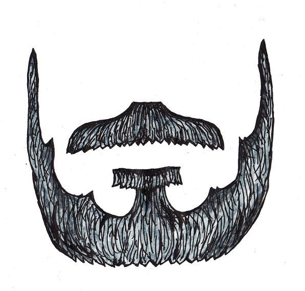 Beard Cut Outs | DIY Costumes | Pinterest