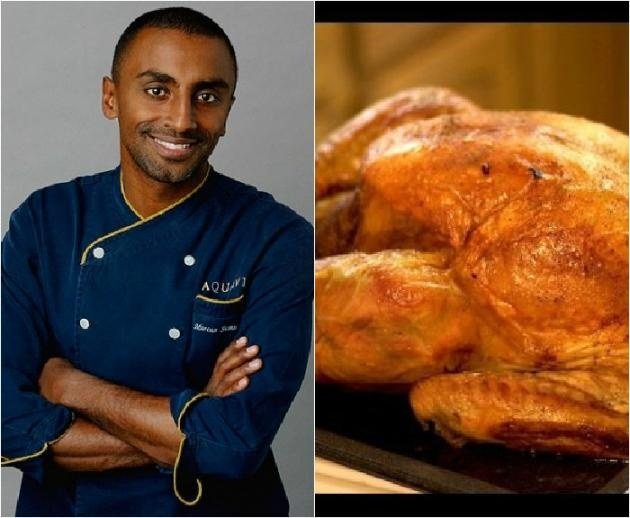 Coconut Milk and Pomegranate Marinated Turkey BY MARCUS SAMUELSSON