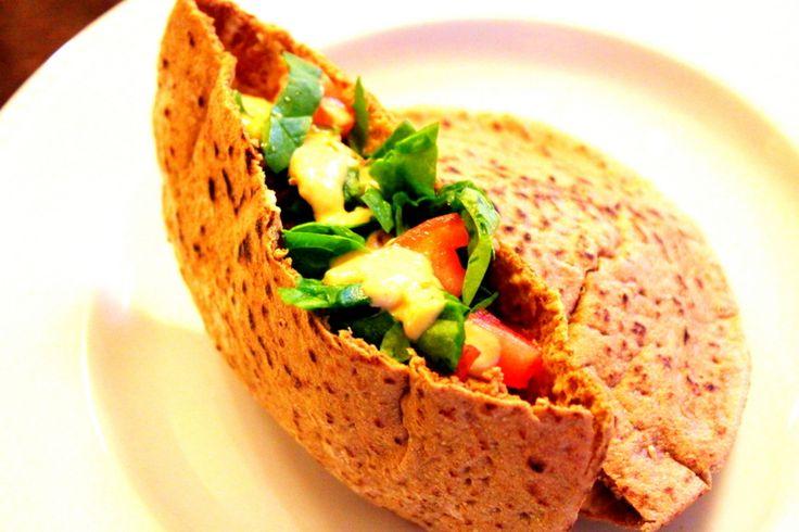 Healthy, Low Calorie Baked Falafel | Thats a wrap...& sandwiches | Pi ...