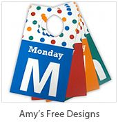 Tons of free printables!