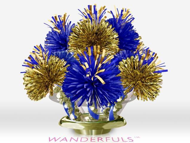 Cub scout blue and gold centerpiece idea scouts