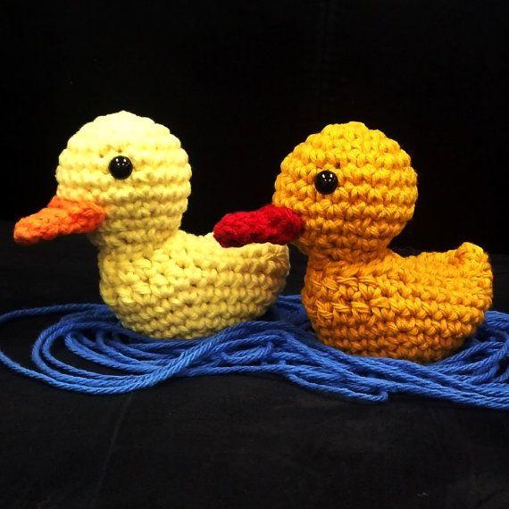 Quick Amigurumi Crochet Patterns : Crochet Amigurumi Pattern - Quick and Easy Cute Duck ...