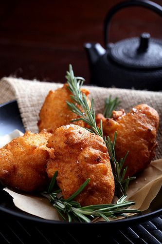 Olives for Dinner | Sweet Potato and Rosemary Beignets by Jeff and ...