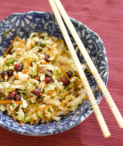 Chef Masa's Pomegranate Cabbage Slaw | RECIPE'S~SALAD'S~SLAW'S ...